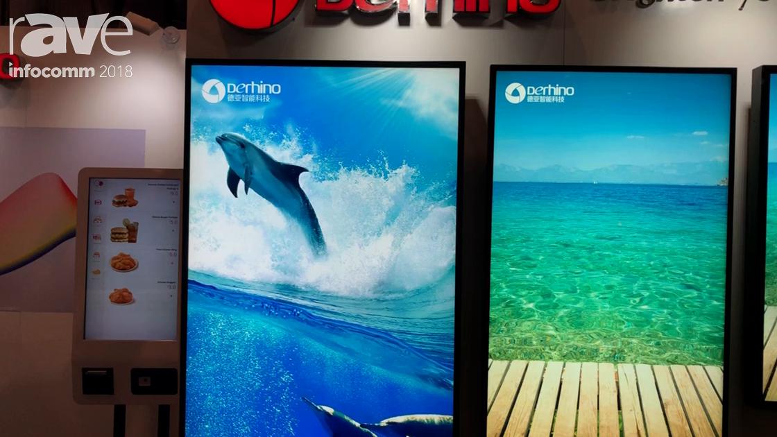 InfoComm 2018: Derhino Shows Off Its High-Brightness Digital Signage Monitors