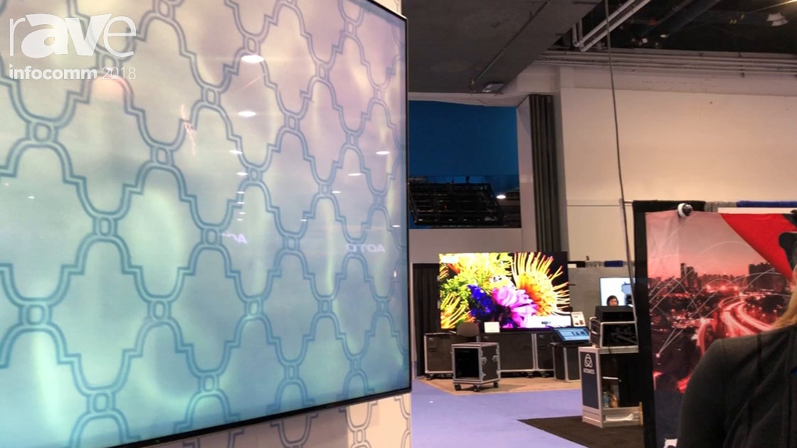 InfoComm 2018: Samsung Consumer Features the 55-Inch QLED 5K Q7 TV in the Almo Pro A/V Booth