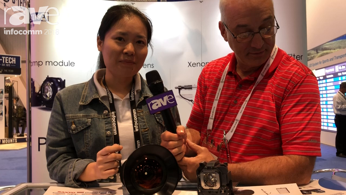 InfoComm 2018: Shenzhen Zorsika Technologies Is a Projector Spare Parts Specialist