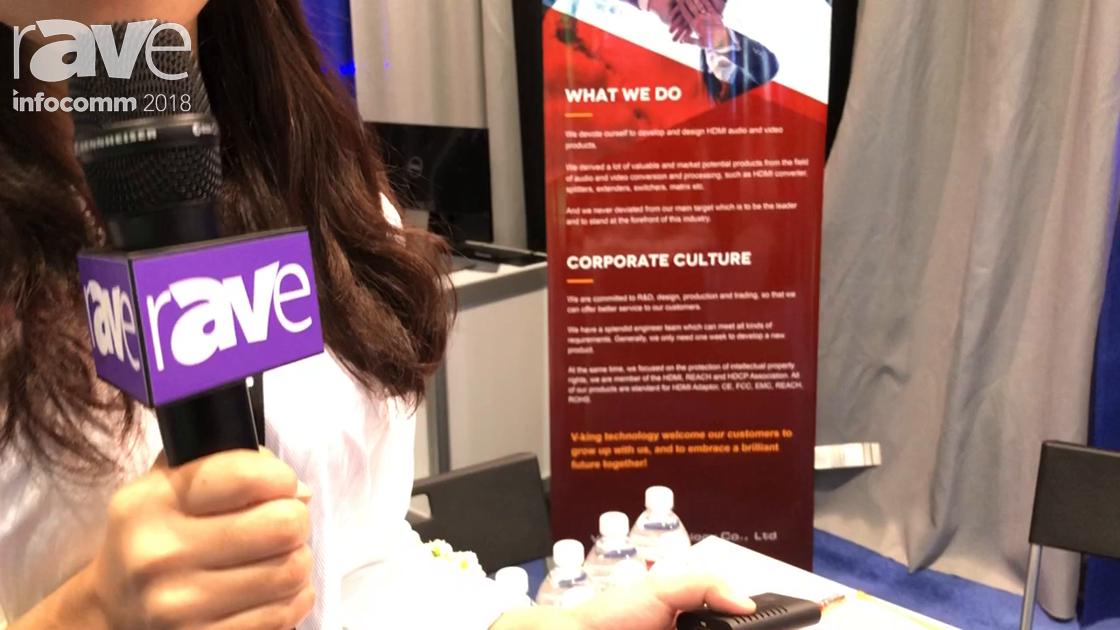 InfoComm 2018: V-King Showcases Its HDMI Extender