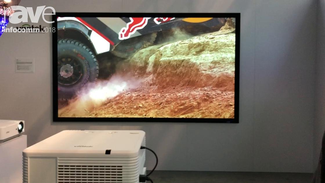 InfoComm 2018: Vivitek Highlights the DU7195Z 8000-Lumen WXGA Laser Projector With Six Lens Options