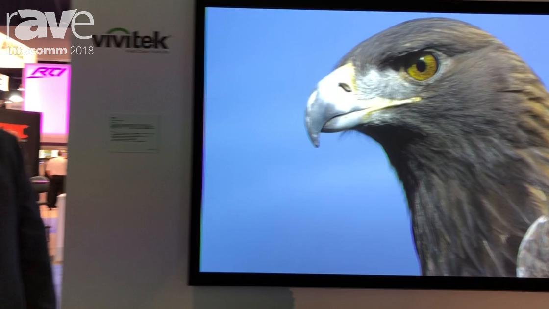 InfoComm 2018: Vivitek Shows Off the DK8500Z 4K 7500-Lumen Laser Projector With Eight Lens Options
