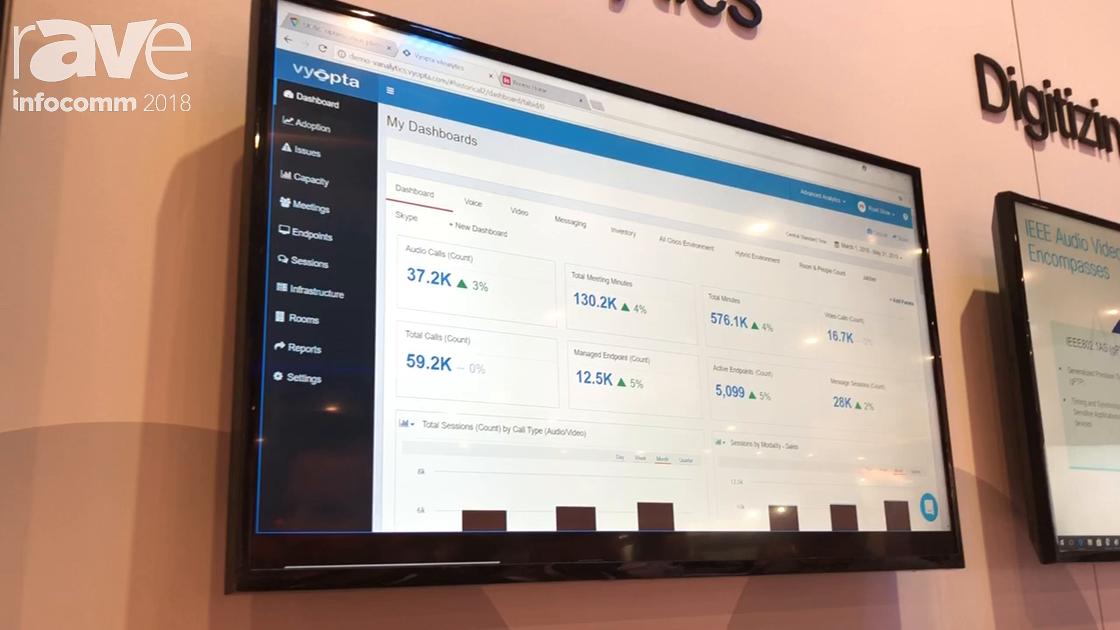 InfoComm 2018: Vyopta Offers Cloud Monitoring and Analytics Platform