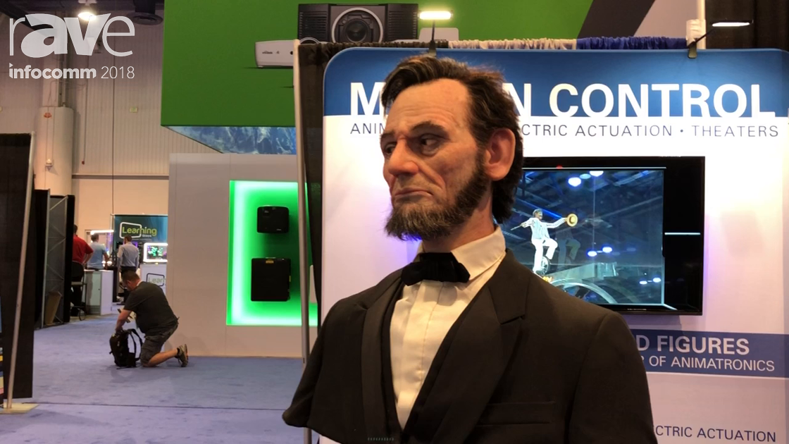 InfoComm 2018: Weigl Controls Partners with Garner Holt for Living Faces in History