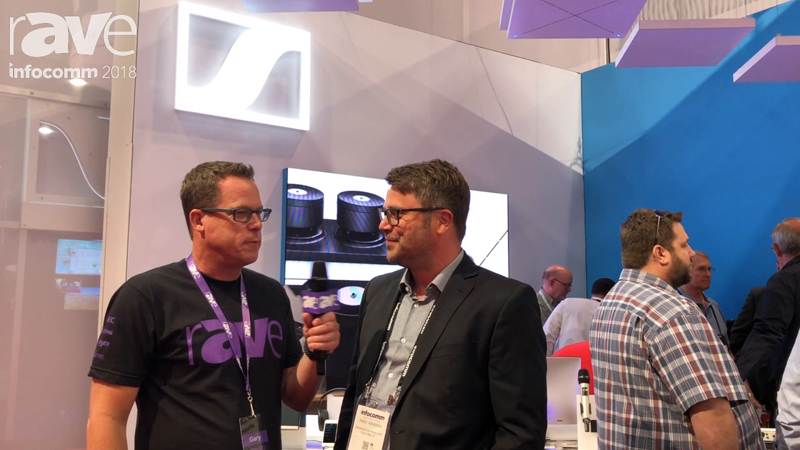 InfoComm 2018: Gary Kayye Interviews Andy Newman of Sennheiser