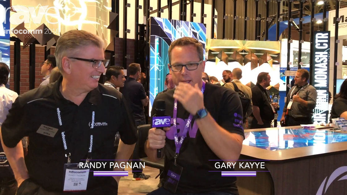InfoComm 2018: Gary Kayye Interviews Randy Pagnan of rp Visual Solutions
