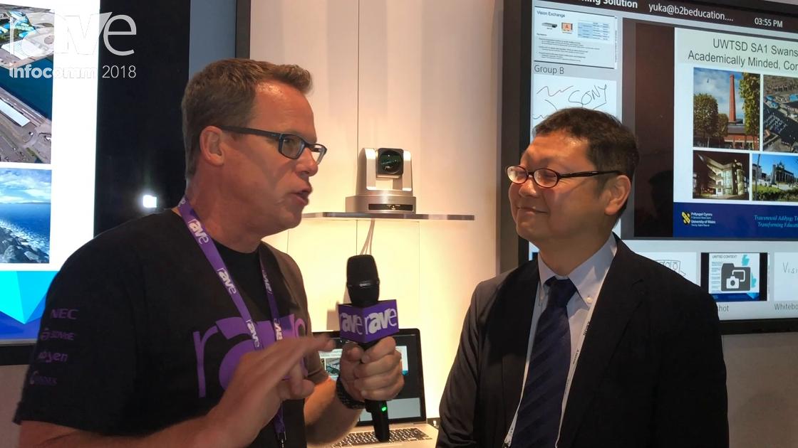 InfoComm 2018: Gary Kayye Interviews Mike Tada, Product Marketing Manager at Sony Electronics