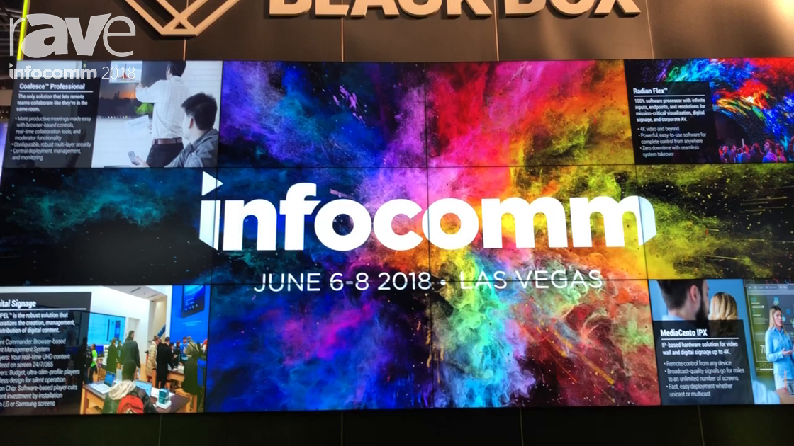 InfoComm 2018: Black Box Features the Radian Flex Video Wall Software