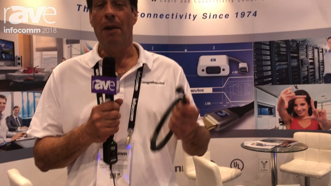 InfoComm 2018: Comprehensive Features Its MicroFlex Certified HDMI 18G Cable