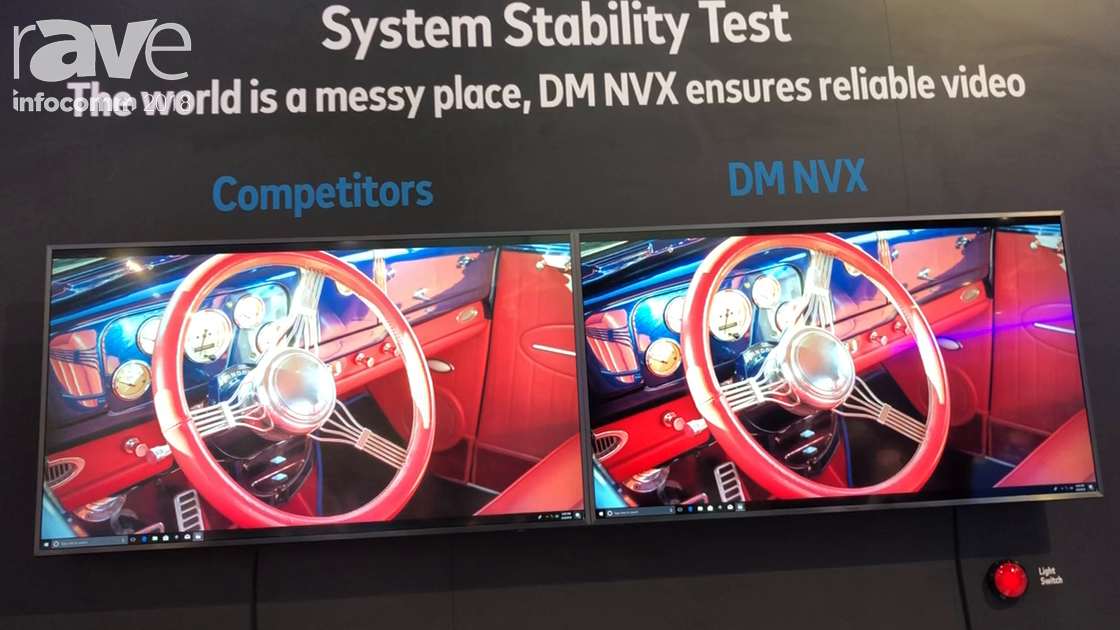 InfoComm 2018: Crestron Demos DM NVX Against Competitors