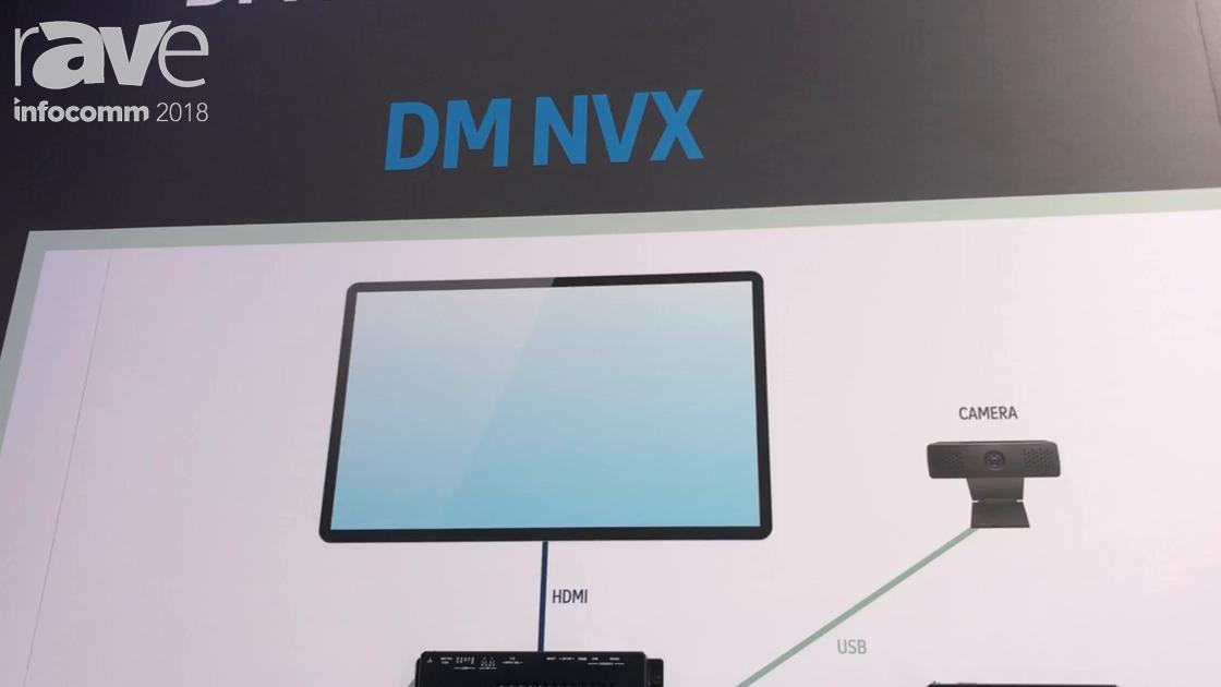InfoComm 2018: Crestron Showcases DM-NVX-350 Encoder/Decoder With USB 2.0 Routing