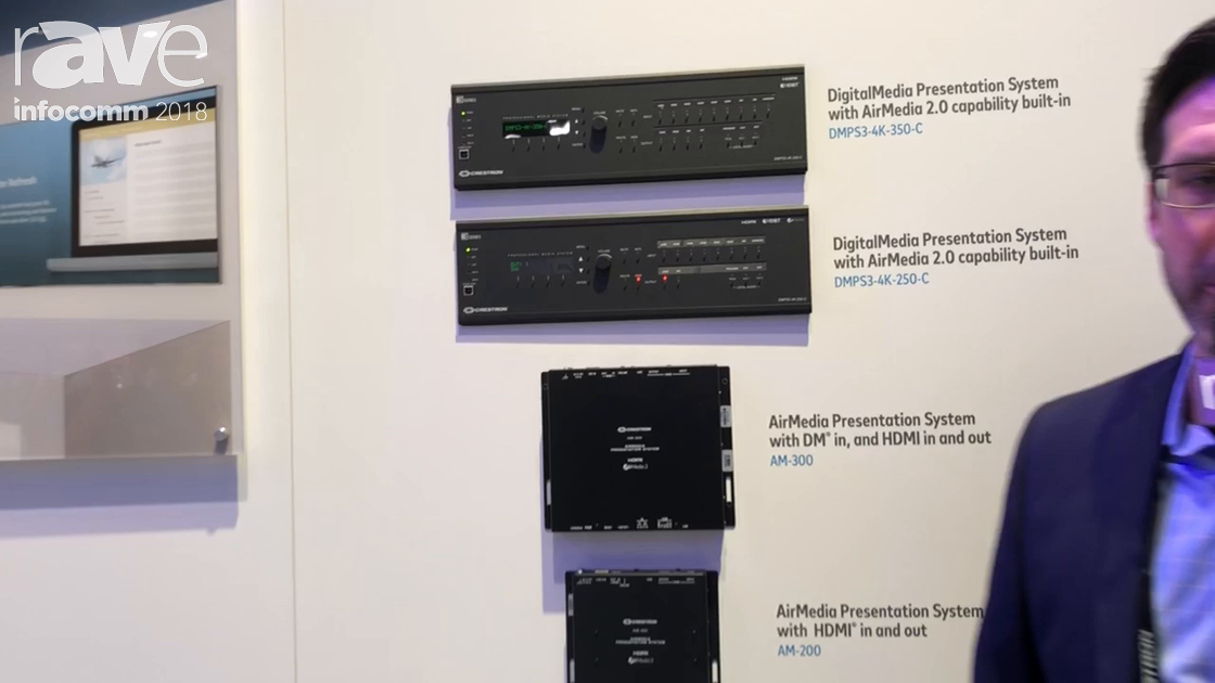 InfoComm 2018: Crestron's AirMedia 2.0 Is Much Faster With Lower Latency