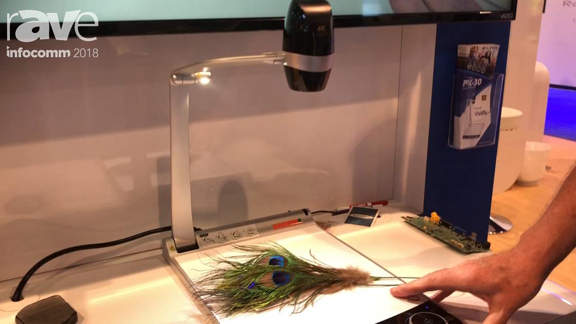 InfoComm 2018: ELMO Intros the PX-30 Visual Presenter Platform Camera