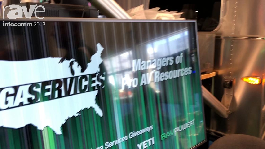 InfoComm 2018: Mega Services LLC Offers Managed Pro AV Resources