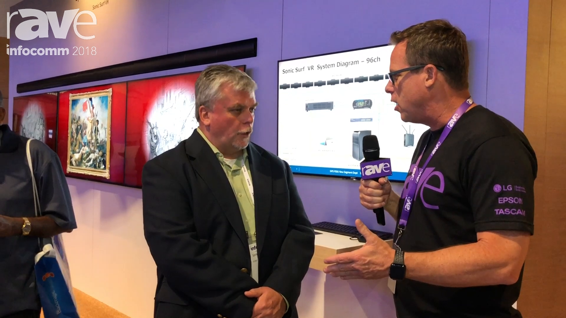 InfoComm 2018: Gary Kayye Interviews Sander Phipps of Sony Electronics About Virtual Reality