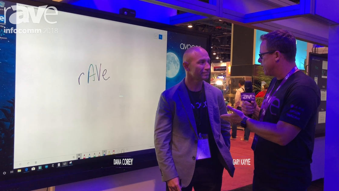 InfoComm 2018: Gary Kayye Interviews Dana Corey of Avocor