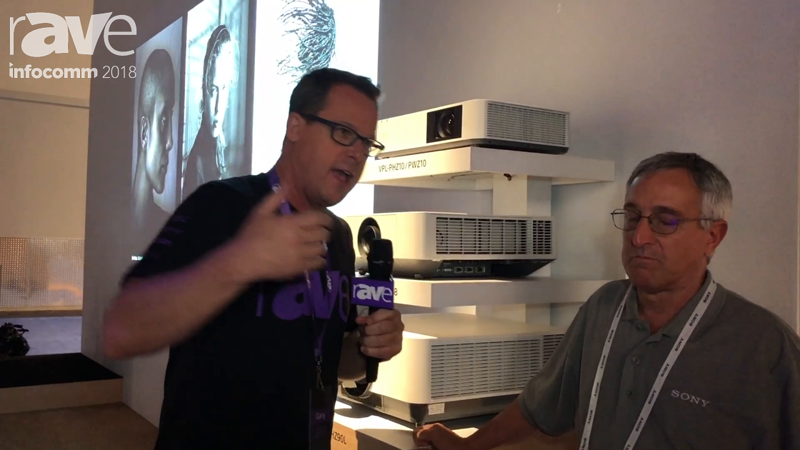 InfoComm 2018: Anthony Cianfarano Speaks With Gary Kayye on Sony Electronics' Projector Family