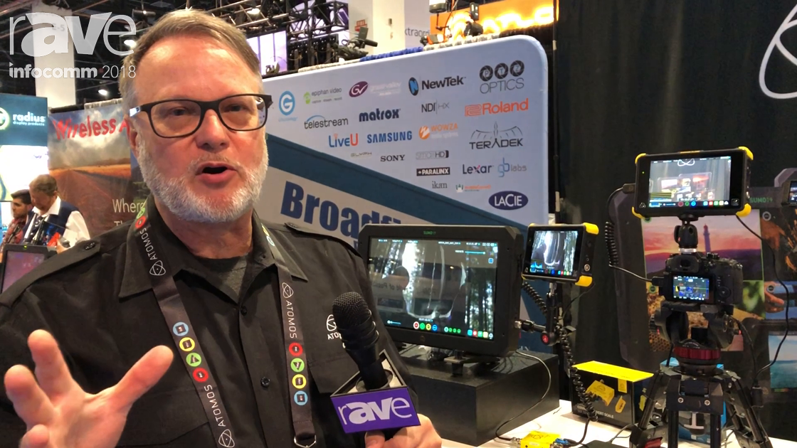 InfoComm 2018: ATOMOS Showcases Its Sumo 19 HDR/High Brightness Monitor Recorder