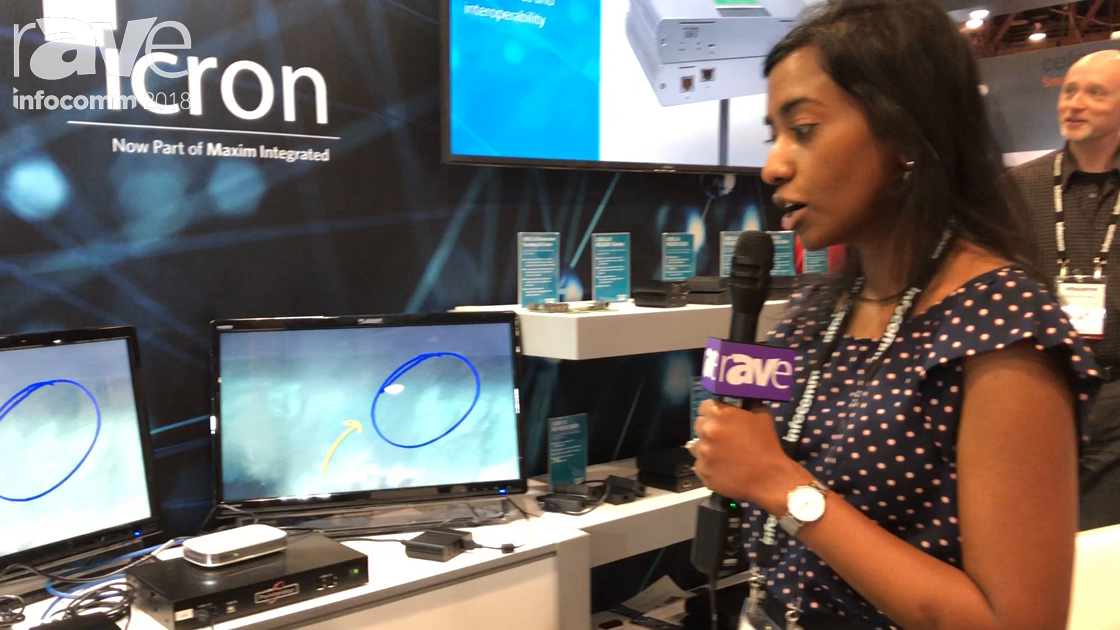 InfoComm 2018: ICRON Shows the USB 2.0 2304S USB Extension Solution, Partners With Pointmaker