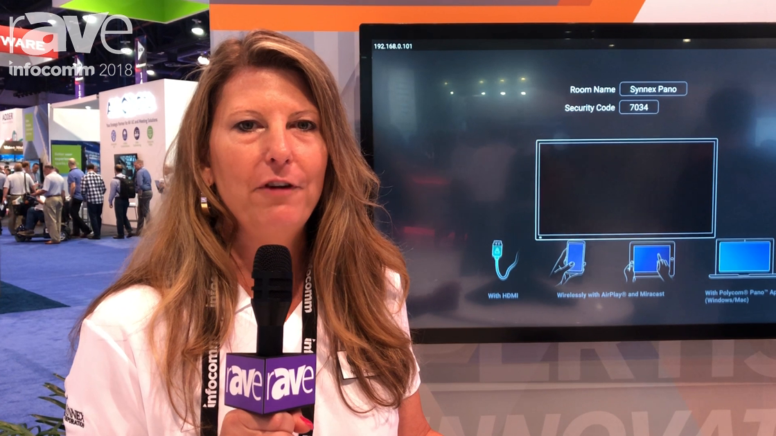 InfoComm 2018: Polycom Showcases the Trio 8800, 8500, Pano Huddle Room Solutions at the Synnex Booth