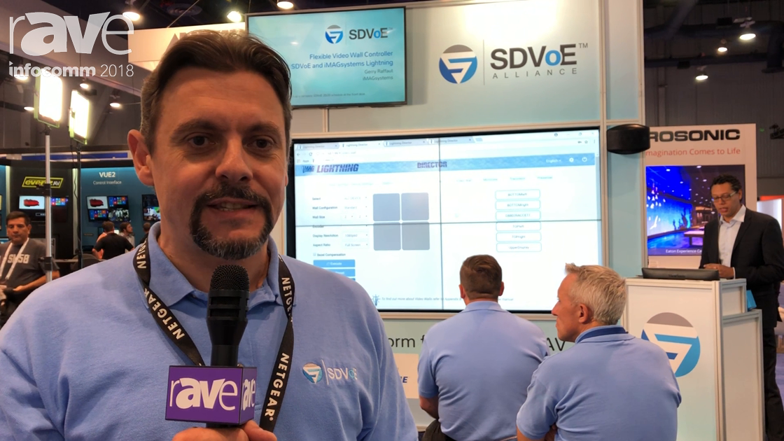 InfoComm 2018: NETGEAR Ships the SDVoE-Ready M4300-96X 10 Gig Switch on the SDVoE Alliance Booth