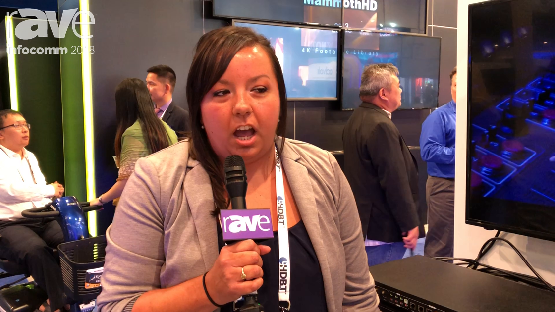 InfoComm 2018: PTN Electronics Shows SCU82TS HDMI 2.0 Seamless Switcher at HDBaseT Alliance Booth