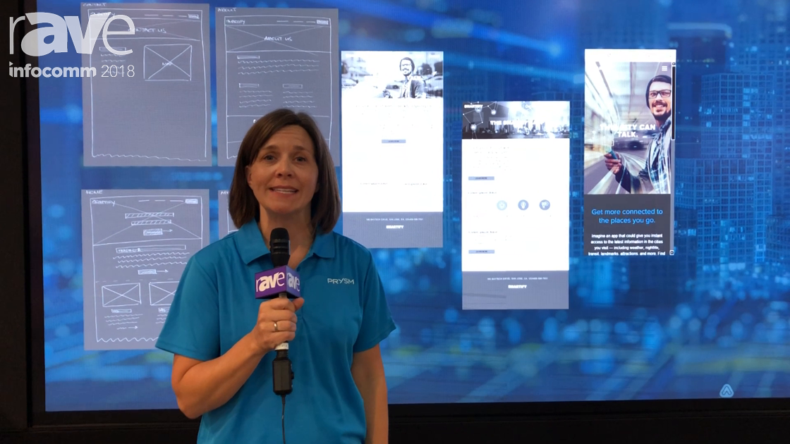 InfoComm 2018: Prysm Demos the LPD 6K Series Demo for High-Value Collaboration Spaces