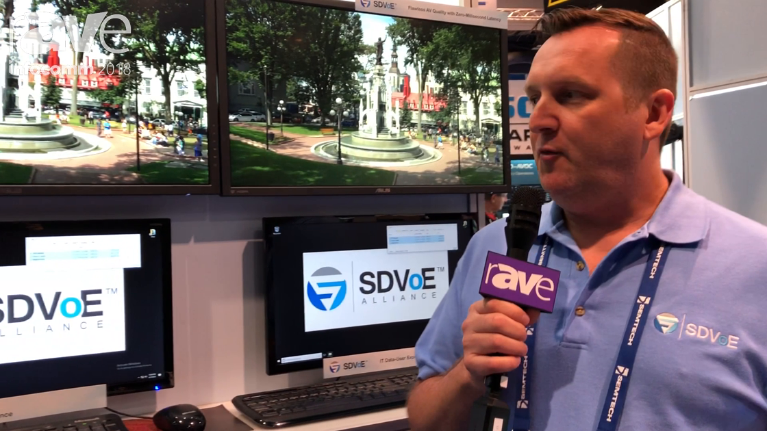 InfoComm 2018: Semtech Talks About Benefits of Sending SDVoE Based Signals Over 10 Gig Networks