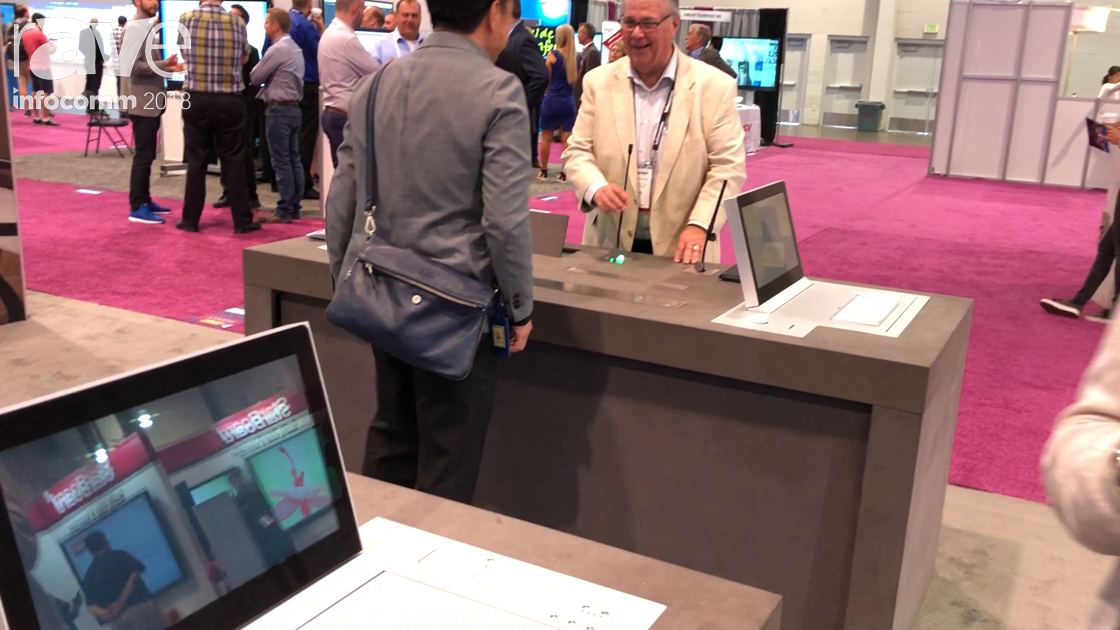 InfoComm 2018: Arthur Holm Demos the Dynamic3 Three-Position In-Furniture Monitor