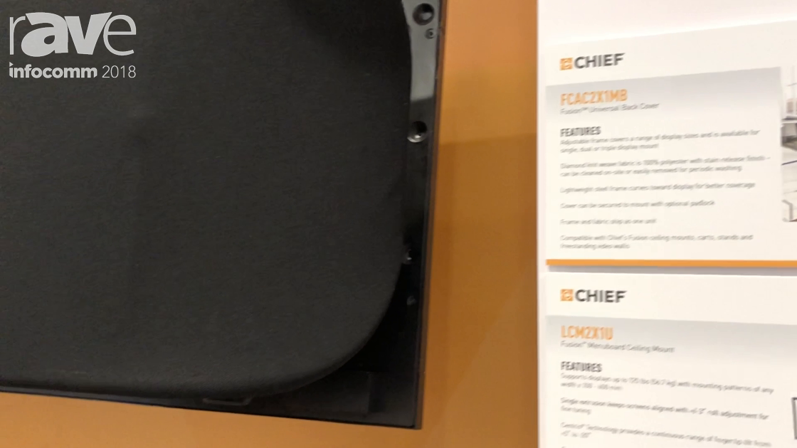 InfoComm 2018: Chief Introduces the FCAC2X1MB Fusion Universal Back Cover