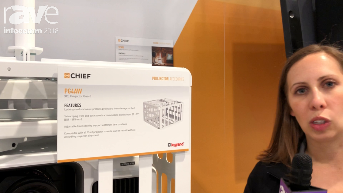 InfoComm 2018: Chief Intros the PG4AW XXL Projector Guard