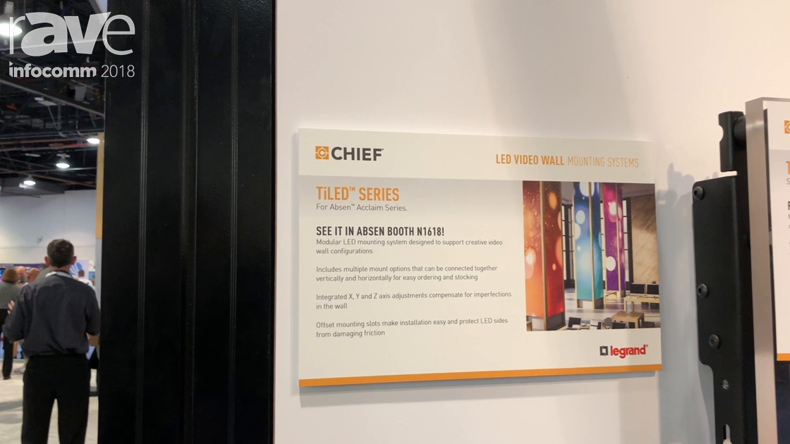 InfoComm 2018: Chief Shows Off the TiLED Series for Absen Acclaim Series