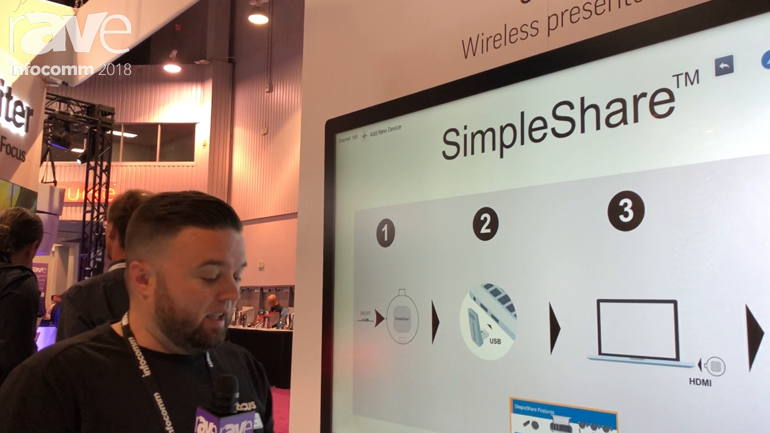 InfoComm 2018: InFocus Introduces Its SimpleShare Wireless Presentation Solution