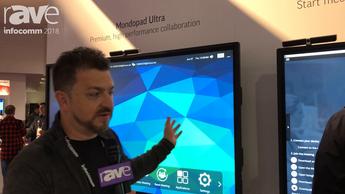 InfoComm 2018: InFocus Unveils Its New Mondopad Launch and Mondopad Access Interactive Touch Panels
