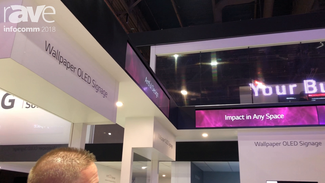 InfoComm 2018: LG Launches 24mm Transparent LED Product for Large Glass Areas