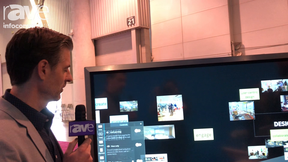 InfoComm 2018: Nureva Demos Follow Me Feature in Span Workspace