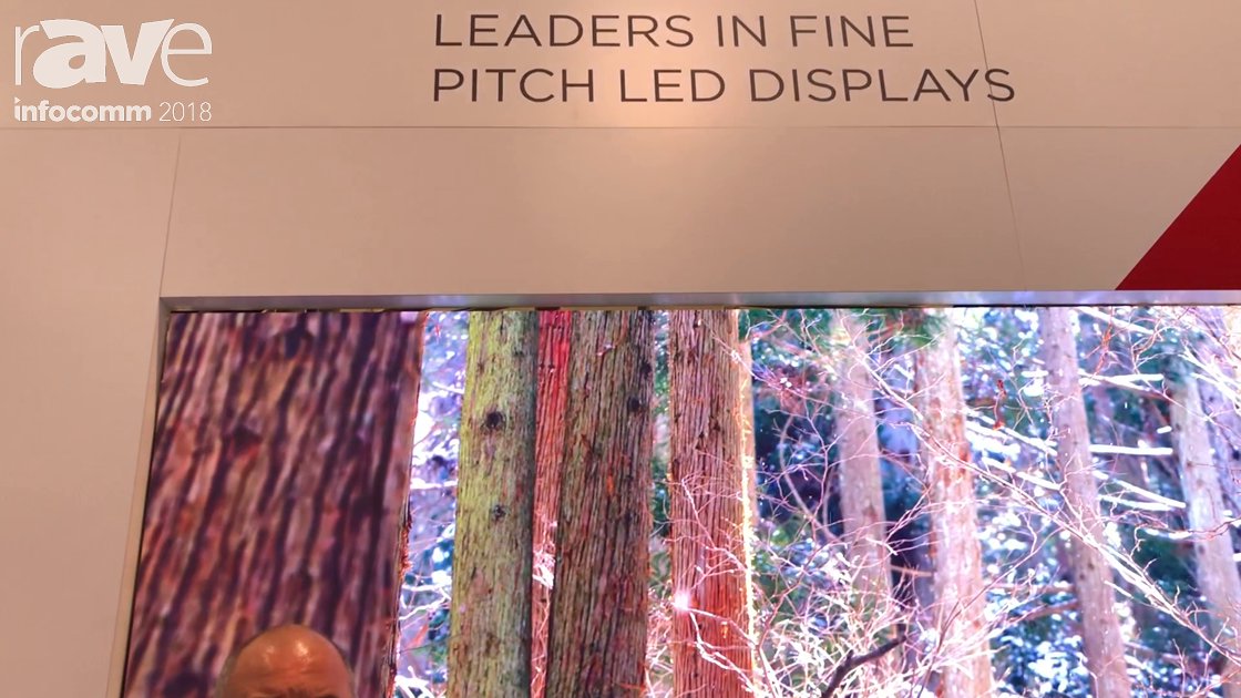 InfoComm 2018: SiliconCore Technology Features the Camellia 0.95mm LED Display with ZACH