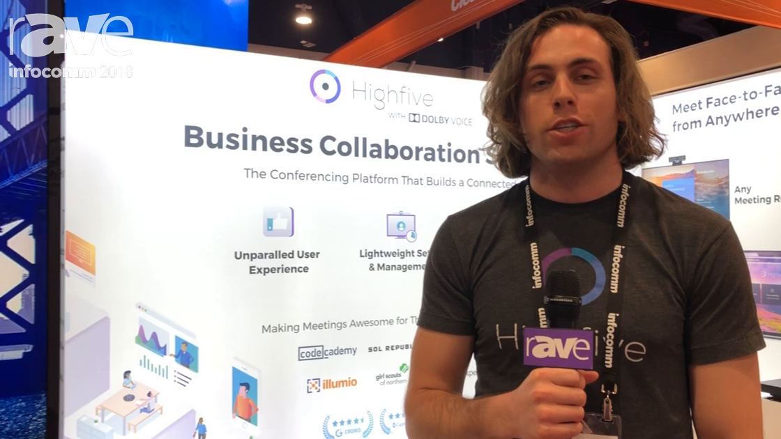 InfoComm 2018: Highfive Discusses 5-In-1 Video Conferencing Platform