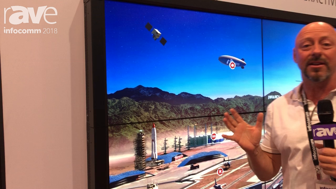 InfoComm 2018: Inhance Digital Exhibits Interactive Wall Content Video Wall System in 8K