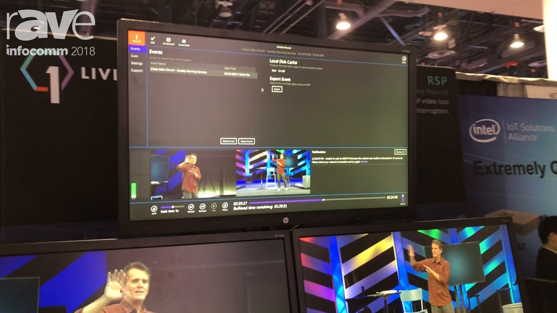 InfoComm 2018: Living As One Presents Multisite Video Streaming Platform for House of Worship Market