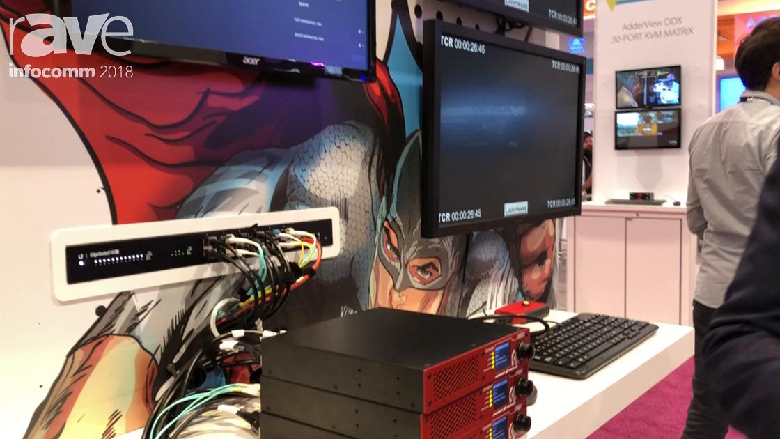 InfoComm 2018: Lightware Discusses UBEX Family of AV-Over-IP Solutions