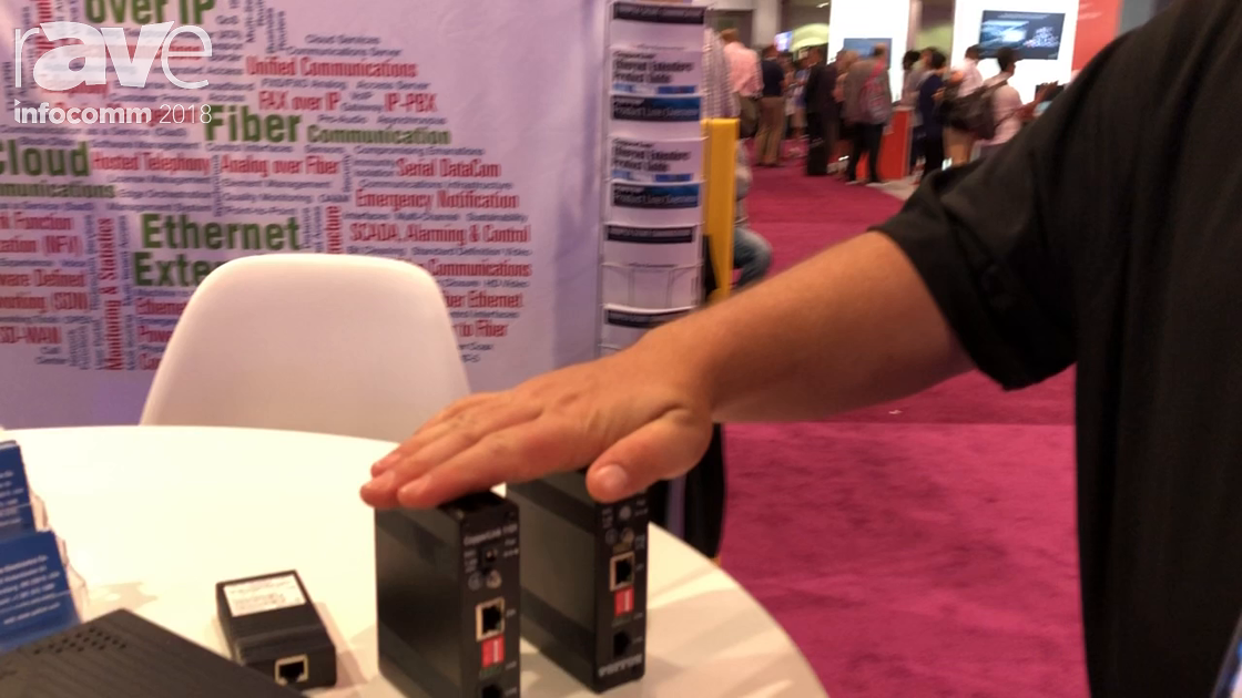 InfoComm 2018: Patton Presents CopperLink 1101 Ethernet Extenders