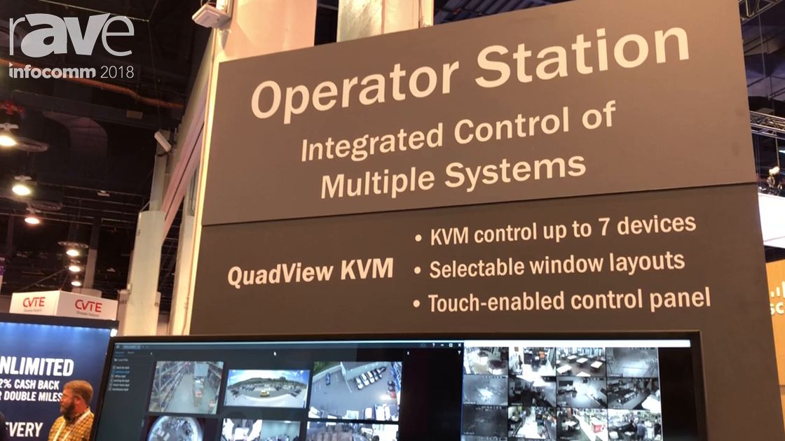 InfoComm 2018: RGB Spectrum Debuts QuadView KVM Turnkey Multiviewer System