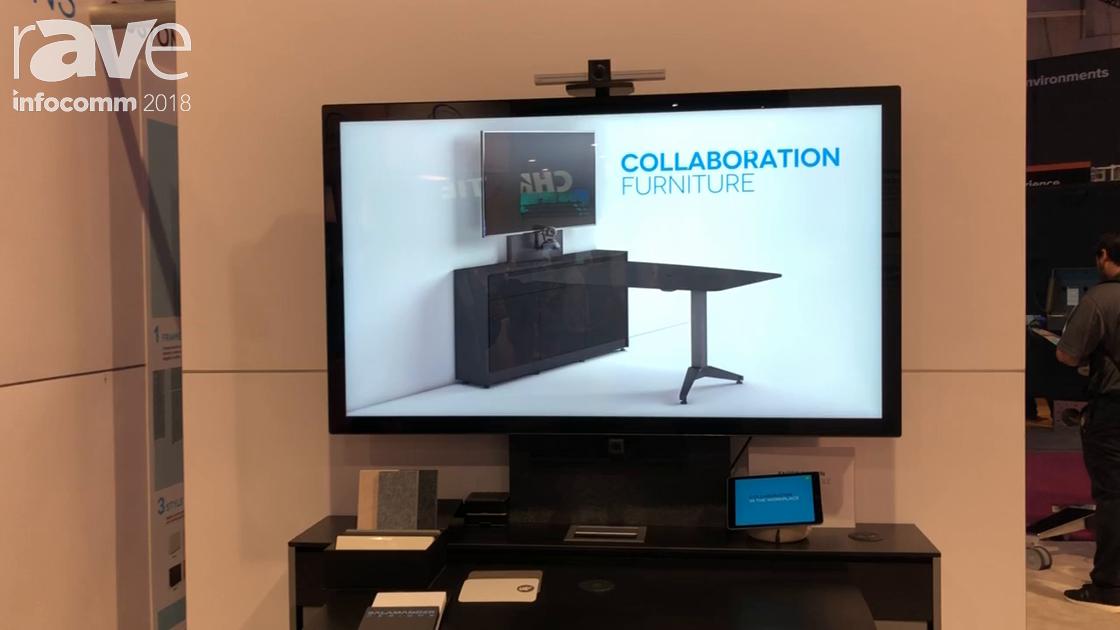 Infocomm 2018 Salamander Designs Debuts Huddle Station