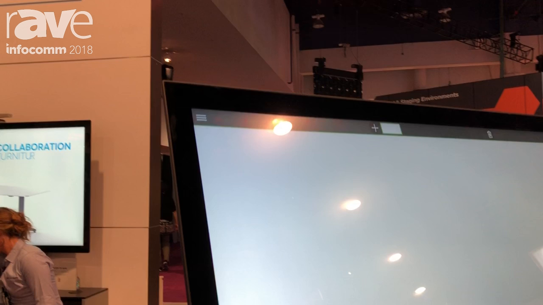 InfoComm 2018: Volanti Displays Highlights 55″ Multi-Touch Interactive Whiteboard