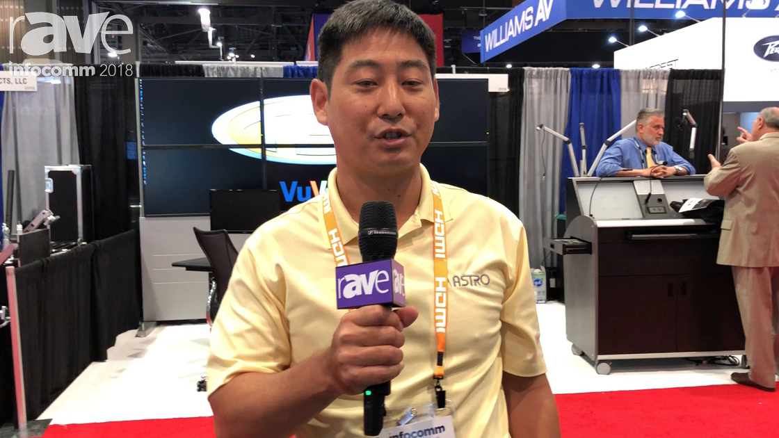 InfoComm 2018: Astrodesign Presents CM-9010-A 8K Camera System