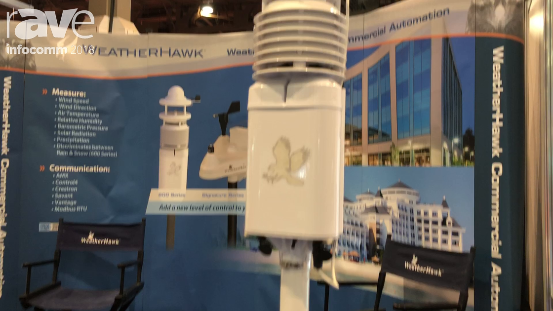InfoComm 2018: WeatherHawk Discusses 600 Series Weather Station