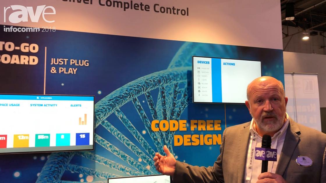 InfoComm 2018: Kramer Exhibits Kramer Control Solution With Data Analytics Engine