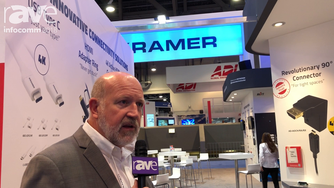 InfoComm 2018: Kramer Features Installer Solutions Products Including CA-HM Active HDMI Cable