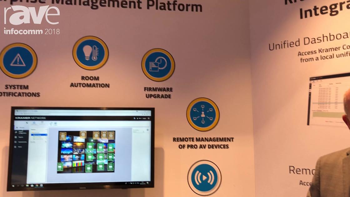 InfoComm 2018: Kramer Talks About Kramer Network 2.0 for Enterprise Management Control